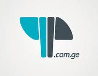 4P.com.ge  Logo Design