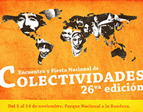 Cartel Colectividades Rosario