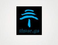 Timer.ge  Logo Design