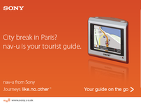 Taking you places with Sony