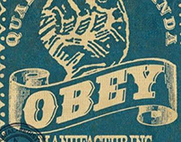 OBEY silkscreen-Rob Howell