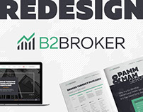 B2Broker Redesign