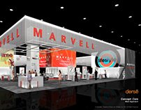 Marvell Semiconductors CES Booth Concept