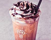 Free milkshake mockup