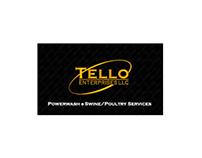 Tello Enterprises Business Card