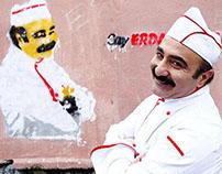 Çay Erdal Bakkal'da İçilir / Stencil