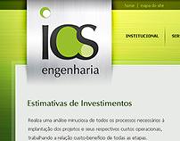 Site Institucional ICS Engenharia