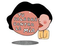 2019.an egindako ilustrazio batzuk. Algunas ilustracion