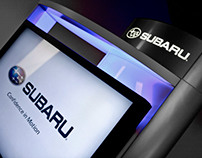 Subaru Digital Showroom Kiosk