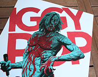 IGGY POP - Post Pop Depression tour Poster