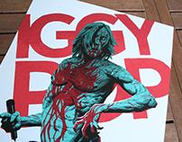 IGGY POP - Post Pop Depression tour Poster