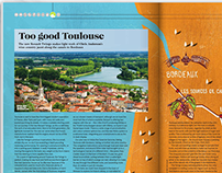 Brussels Airlines magazine - B.There illo commission