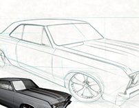Drawing a Chevelle