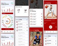 Sports App UI Concept