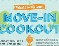 Parent & Family Center Move-In Cookout
