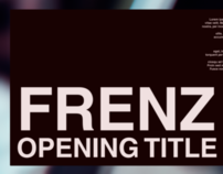 "FRENZ 2010 Opening Title ""Assemblage"""