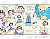 Book spread: Junko Tabei