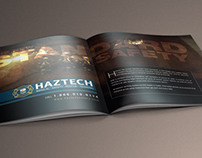 Haztech - Double Page Spread Ad