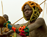 ETHIOPIA - Stick fighting - Saguine
