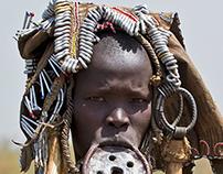 ETHIOPIA - Mursi Tribes
