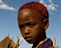 ETHIOPIA - Karo tribes