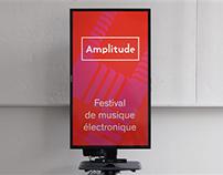 Amplitude : Affichage numérique interactif