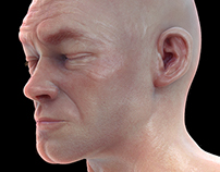 3d Portrait Sculpt and Texturing #1