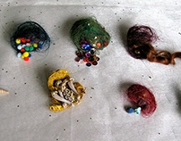 Human Hair Nests