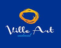 Experimentos - Logotipo Empreendimento Ville Art
