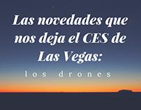 Las novedades que nos deja el CES de Las Vegas: los dro