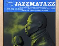 JAZZMATAZZ 2.5D -VINYL COVER WALLART-