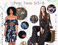 Spring/Summer 2018 Print Trend Poster