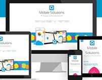 Website Quadram.mobi   #website #webdesign #mobile #app