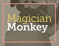 Magician Monkey illustration