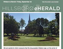 Redesign: Hillsboro eHerald