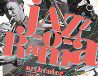 ›Jazz-O-Rama - Jazzreihe‹ Poster | Art Direction/Design