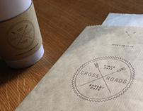 Crossroads Bakery Café Branding