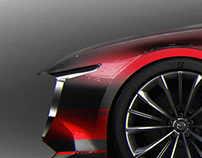 TUTO - car rendering technique in Photoshop