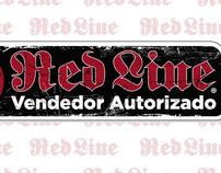 """Calcamonia """"Vendedor Autorizado"""" Red Line Skates"""