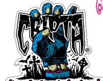 """Calcamonia """"Vendedor Autorizado"""" CRIPTA WHEELS"""