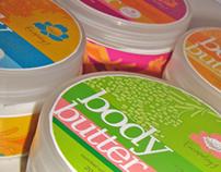 Escapology Skincare Label Designs