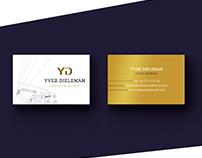 Yves Dieleman's visual identity