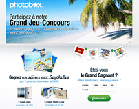 Jeu-concours Photobox