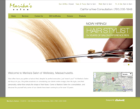 Marika's Hair Salon Website