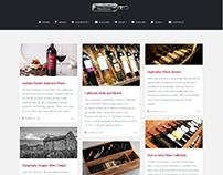 Blog Masonry Page - Wine WordPress Theme