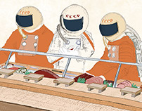 Sushi Cosmonauts. A fun little personal project...