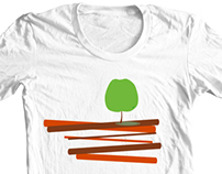 My Apple Tree - Conceptual Art T-shirt