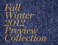 DIESEL Fall Winter 12 Preview - Visual Guidelines