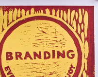 Ink Branding Poster