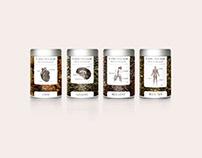 Vital Tea Leaf // Branding + Packaging